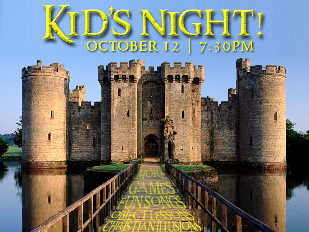 October 12 | Kid's Night at ILC