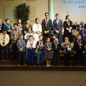 Bible Quizzing Year-End Awards | August 17, 2018