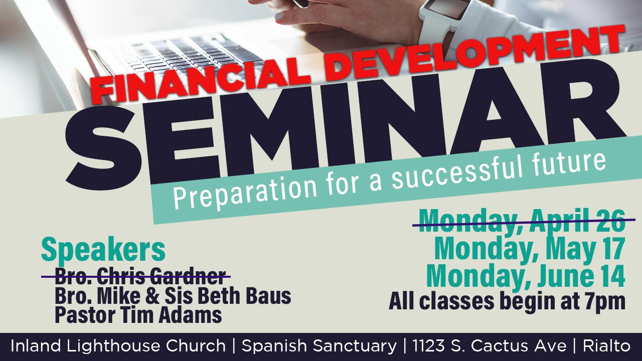 Financial Development Seminar
