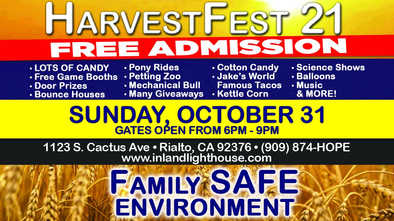HarvestFest   October 31, 2021