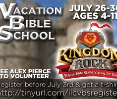 July 26-30 | VBS!